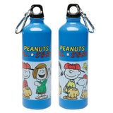 Peanuts All Stars Metal Water Bottle With Carabiner