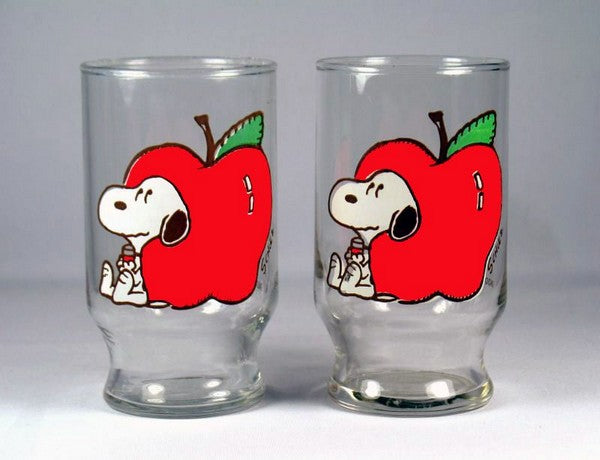 Snoopy Apple Juice Glass Set