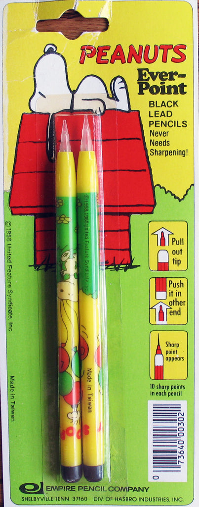 Snoopy Ever-Point Automatic Pencil Set