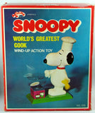 Snoopy World's Greatest Cook Wind Up Toy