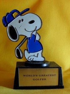 World's Greatest Golfer trophy