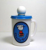 Avon Milk Glass Mug - Charlie Brown