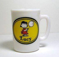 Avon Milk Glass Mug - Lucy