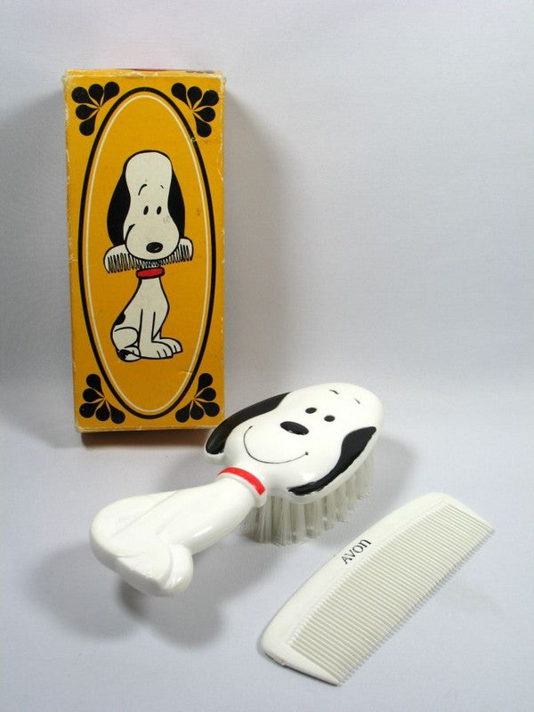 Snoopy Comb and Brush Set