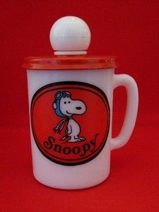 Snoopy Mug with Liquid Soap