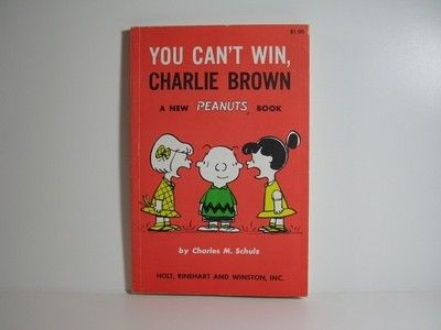 You Can't Win, Charlie Brown Book