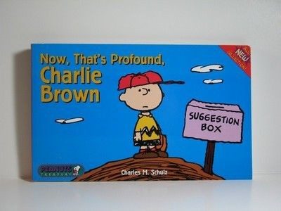 Now That's Profound, Charlie Brown book