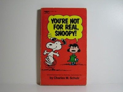 You're Not For Real, Snoopy Book