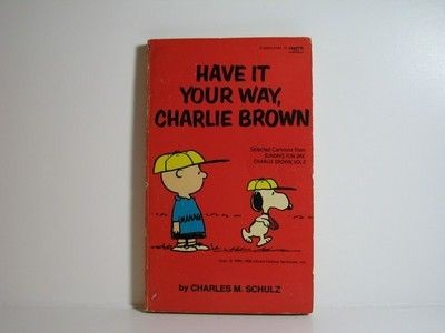 Have It Your Way, Charlie Brown Book