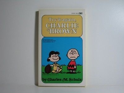 Try It Again, Charlie Brown Book