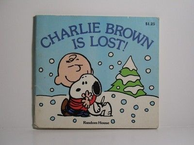 Charlie Brown Is Lost Book