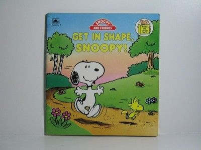Get In Shape, Snoopy Book