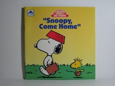 Snoopy, Come Home Book