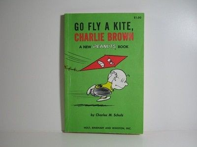 Go Fly A Kite, Charlie Brown Book