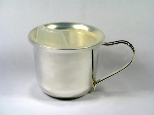 Silver Plated Sipper Cup (Plain - No Snoopy Image)
