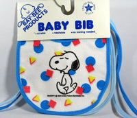 Snoopy and Lucy Drooler Bib Set