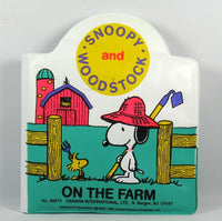 Snoopy Squeaker Book - On The Farm