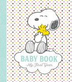 Snoopy Baby Book - My First Year