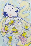 Baby Snoopy Vintage 2nd Birthday Card