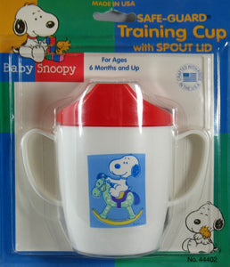 Baby Snoopy 2-Handle Training Cup
