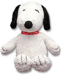 """My First Snoopy"" Plush Rattle Doll - Rare!"