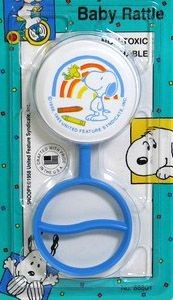Baby Snoopy Rattle