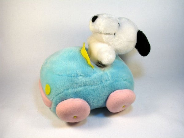 Snoopy Plush Doll with Car