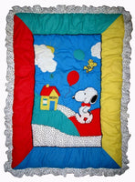 Snoopy and Woodstock Baby Comforter