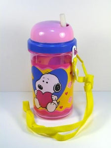 Baby Snoopy Acrylic Glass With Concealed Straw - REDUCED PRICE!