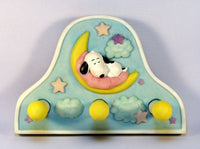 Baby Snoopy Wall Hook Set