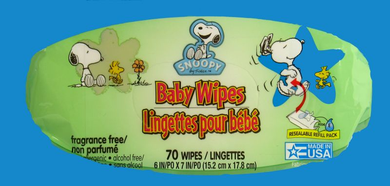 Snoopy Baby Wipes