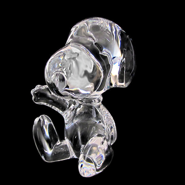 Snoopy Baccarat Crystal Figurine