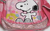 Snoopy Backpack With Sequins and Glitter Accents - Smiling Snoopy