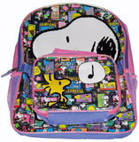 Snoopy Sparkling Backpack and Lunch Bag Combo