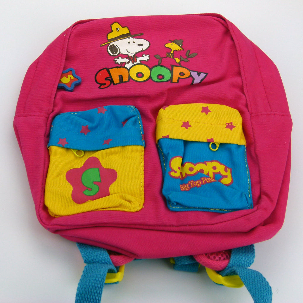 Kids Small Backpack -  Snoopy Scout