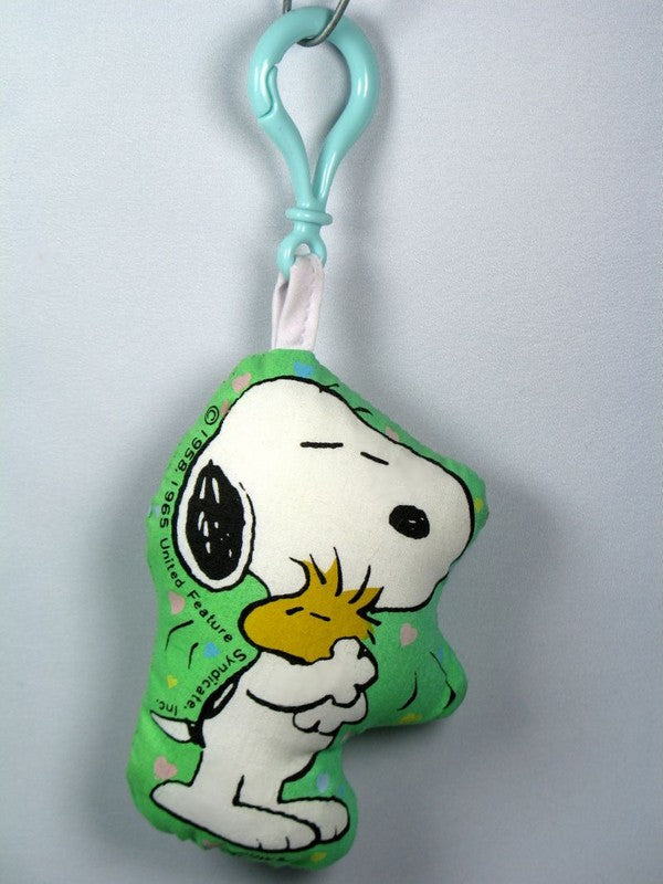 Snoopy Pillow Key Chain / Backpack Clip-On