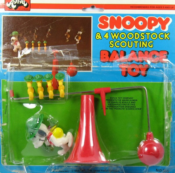Snoopy and Woodstocks Beaglescouts Balance Toy