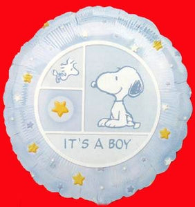 Baby Boy Snoopy Balloon