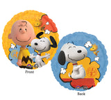 Peanuts Movie 2-Sided Balloon