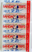 Snoopy and Woodstock Vintage Band-Aids