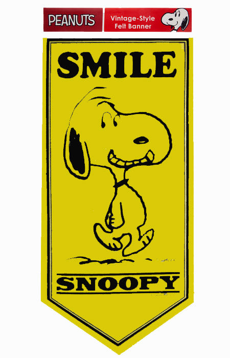 Snoopy Smile Banner