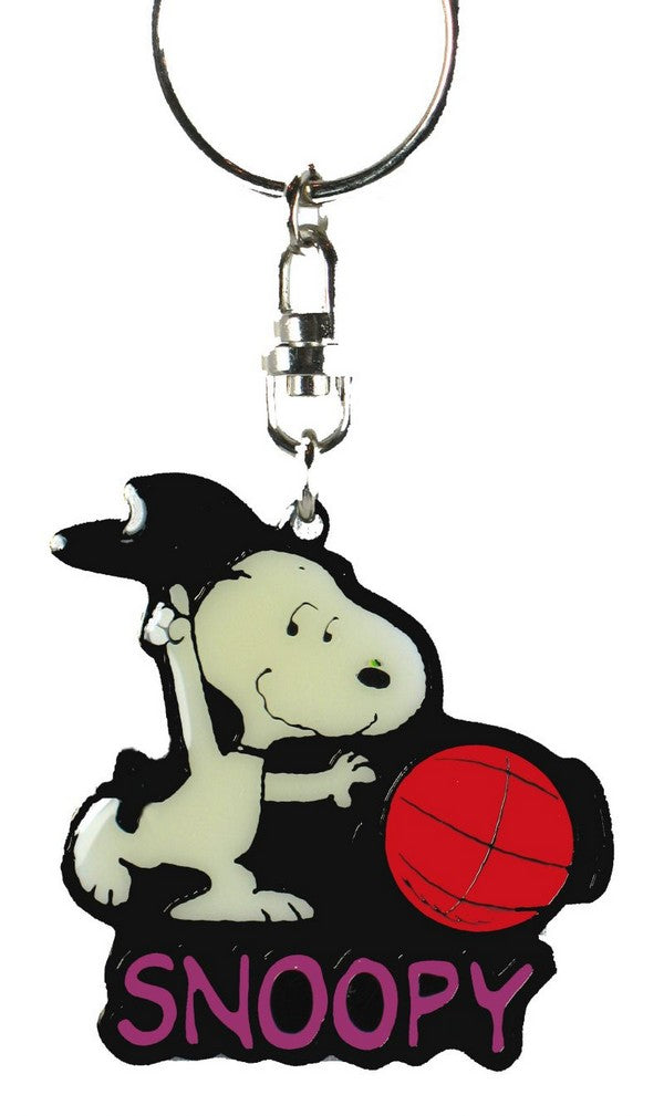 Snoopy Basketball Player acrylic key chain