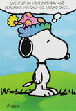 Snoopy Vintage Birthday Card