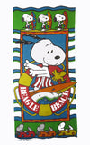 Snoopy Vintage Beach Towel