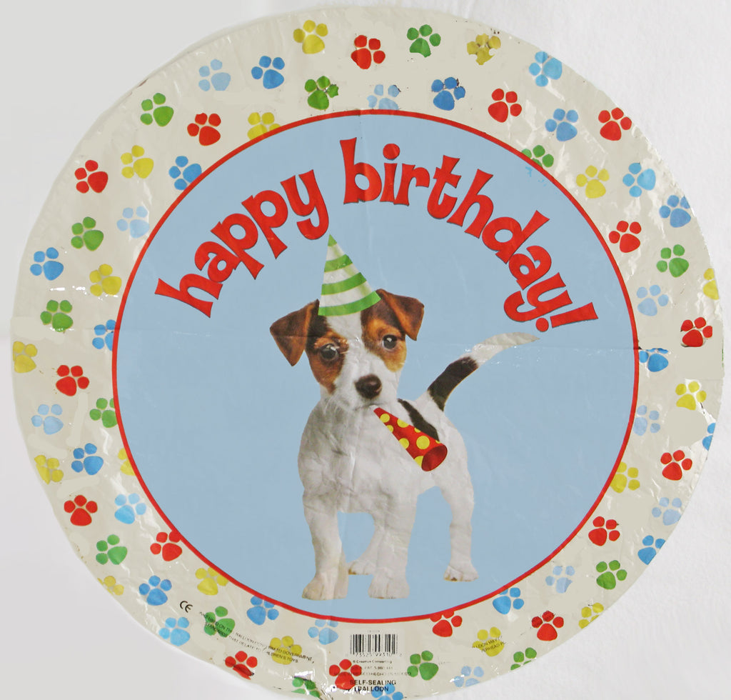 Happy Birthday Beagle Balloon