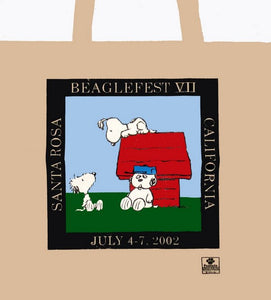 Beaglefest VII PCC Tote Bag (July 4-7, 2002 in Santa Rosa, CA)