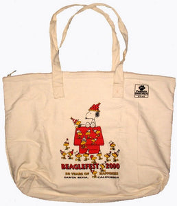 50th Anniversary Peanuts Collector Club Tote Bag (Beaglefest 2000)