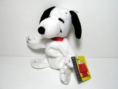 Snoopy Plush Bean Bag Doll