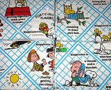Peanuts Gang Bed Skirt - Queen Size