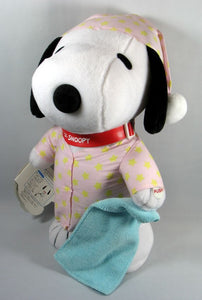Bedtime Snoopy Animated Doll